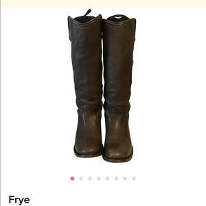 Frye Melissa Button boot - Smoke size 6